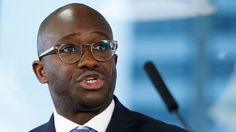 Sam Gyimah joins race to succeed Theresa May