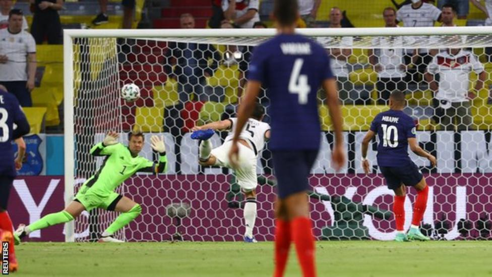 Euro 2020: Hummels own goal sees France beat Germany