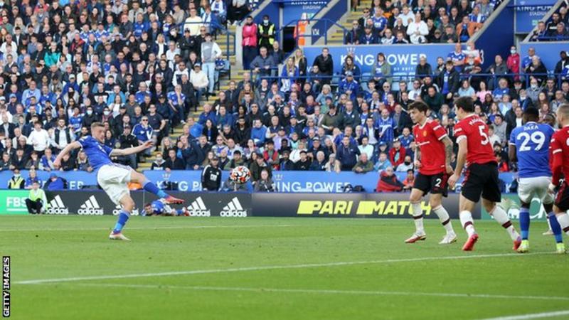 Leicester end Man United's long unbeaten away run