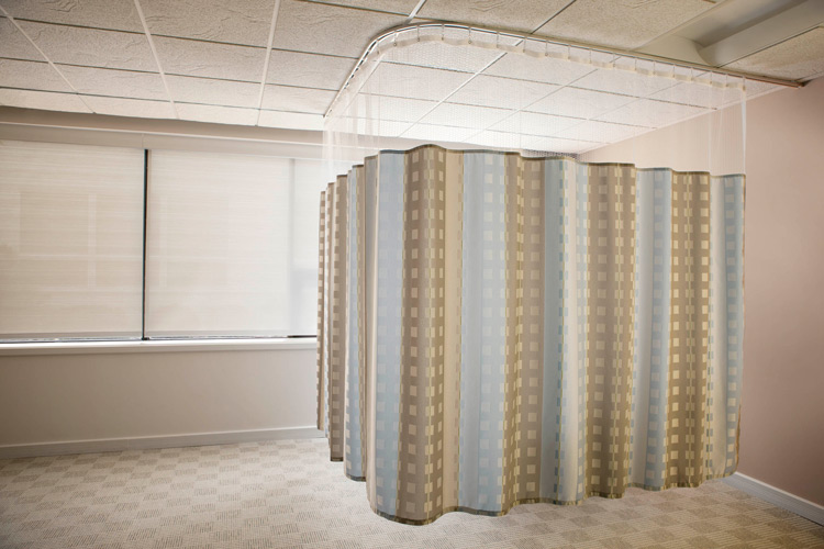 hospital privacy curtains standard