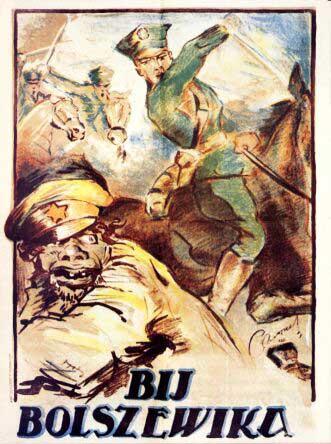 Polski plakat propagandowy z 1920 roku