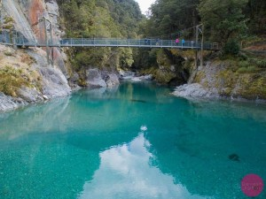 The Blue Pools, Haast Pass