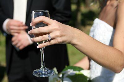 Весільний бум у день щасливої сімки