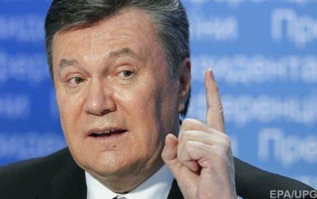 Янукович оголосив, що повернеться в Україну