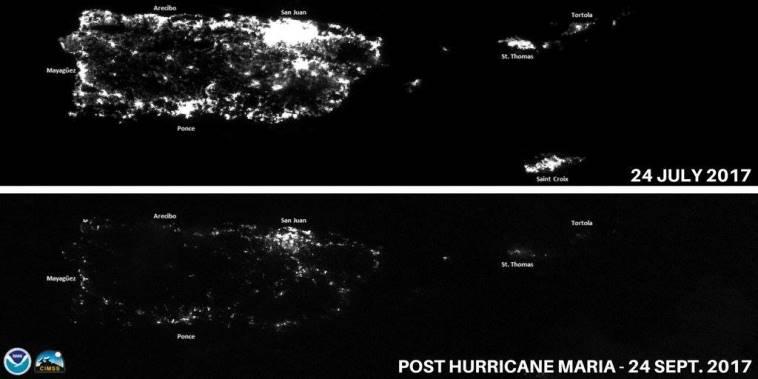 Пуерто-Рико з космосу