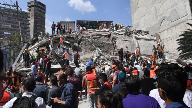Землетрус у Мексиці