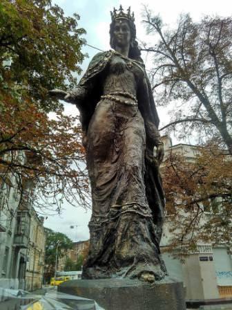 Пам'ятник королеві Франції Анні Київській