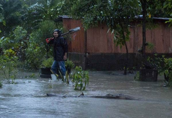 Ураган Нейт, Нікарагуа