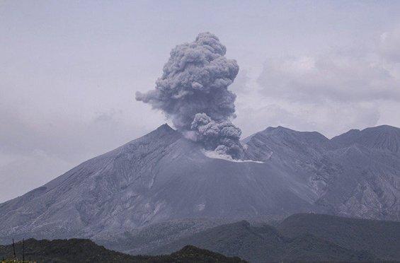 Вулкан у Японії