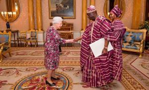 Королева і посол