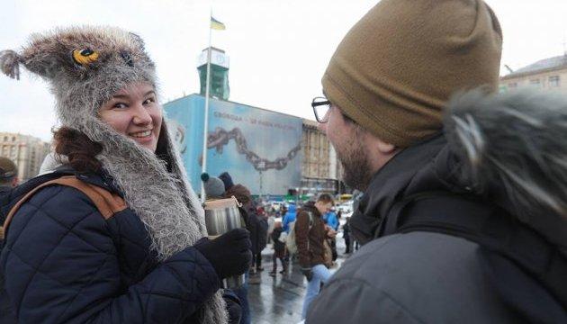 Кавою на Хрещатику смакували півтори тисячі українців