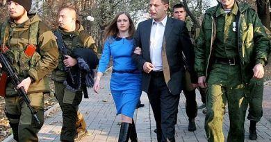 Дружина Захарченка у новорічну ніч отруїла понад 40 бойовиків в Донецьку
