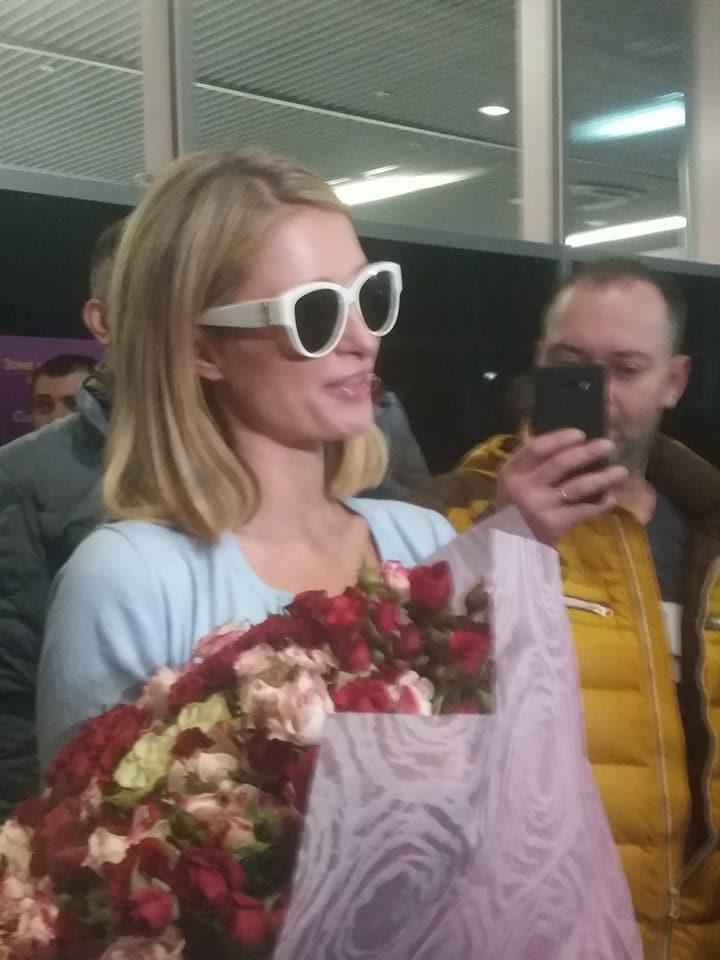 Періс Хілтон прибула до Львова