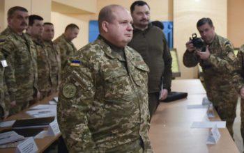"""Командувач Сухопутних військ буде жити в наметі на полігоні """"Широкий лан"""" – міністр"""