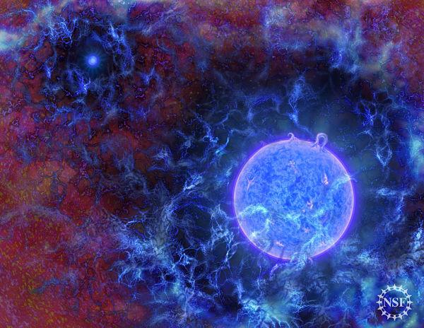 Атрономи виявили сигнал перших зірок, що дали початок Всесвіту
