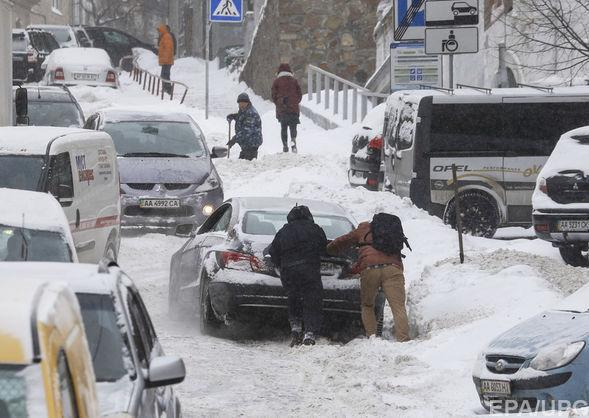 Холодний березень у Києві