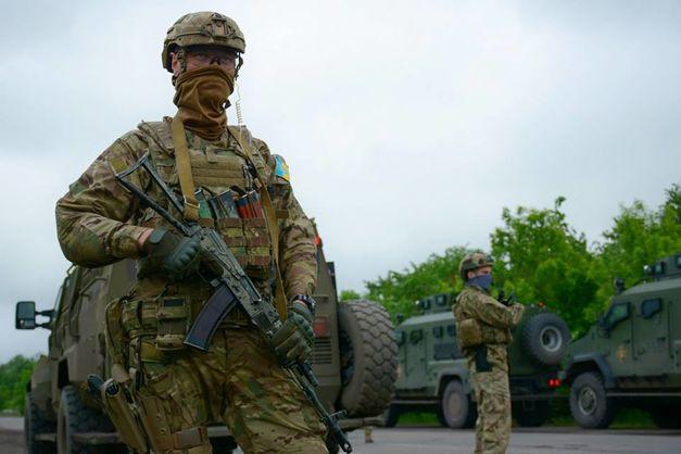 Фото штабу Об'єднаних сил