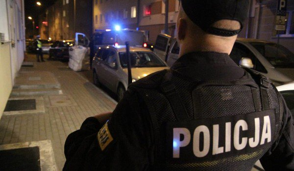 Польська поліція.
