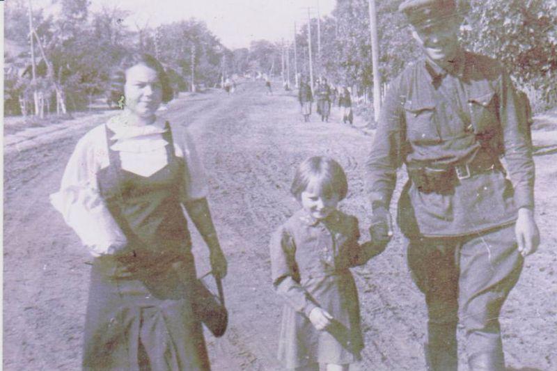Курач з родичами