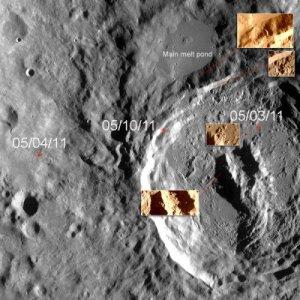 Руїни храму на Місяці