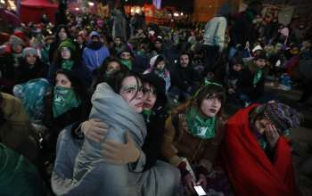 Аргентинки в очікуванні закону, що легалізує аборти