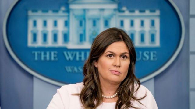 Прес-секретар Білого дому Сара Сандерс