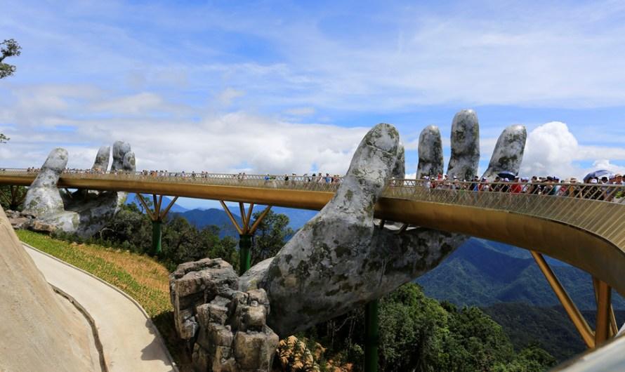 Міст на руках збудовано у В'єтнамі – відео