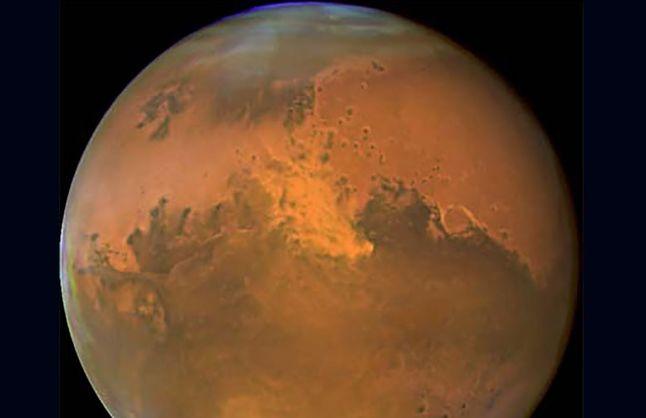 Марс. Фото NASA