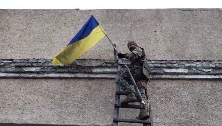 Українська армія звільнила від окупантів селище на Луганщині