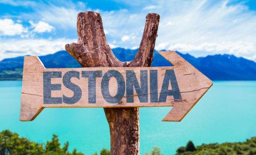 Дорожній вказівник - Естонія