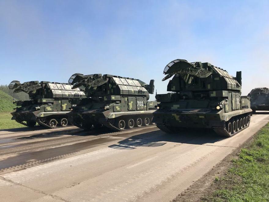 В Україні відновлено зенітно-ракетні системи «Тор» і «С-300В»
