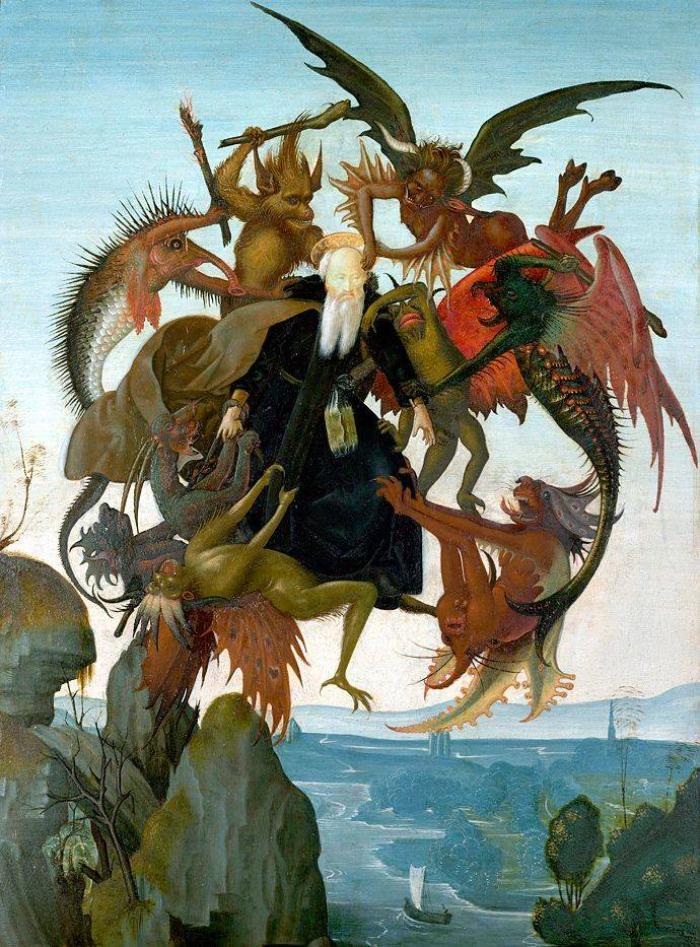 Муки святого Антонія. Мікеланджело Буонаротті