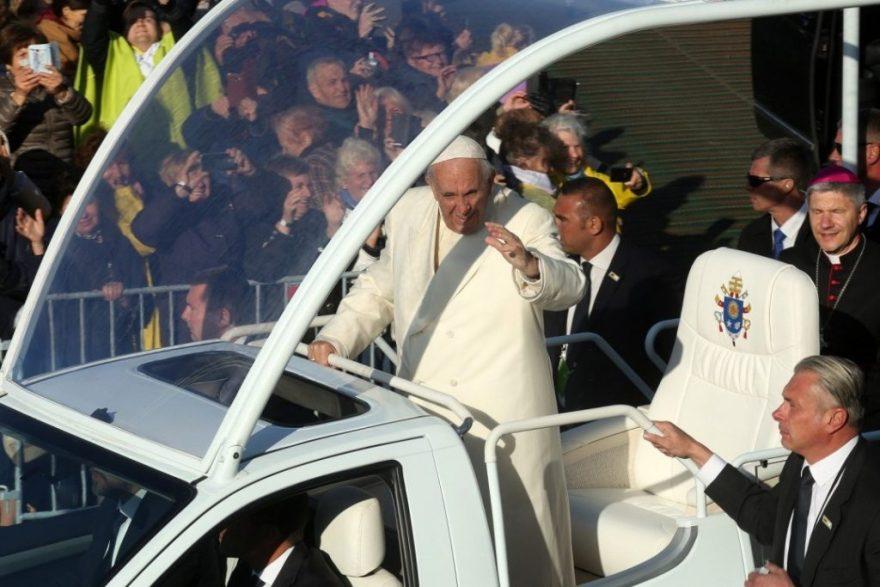 Папа Франциск у Литві