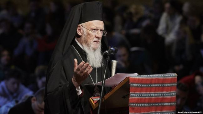 Вселенський патріарх Варфоломій: Тепер настала черга України