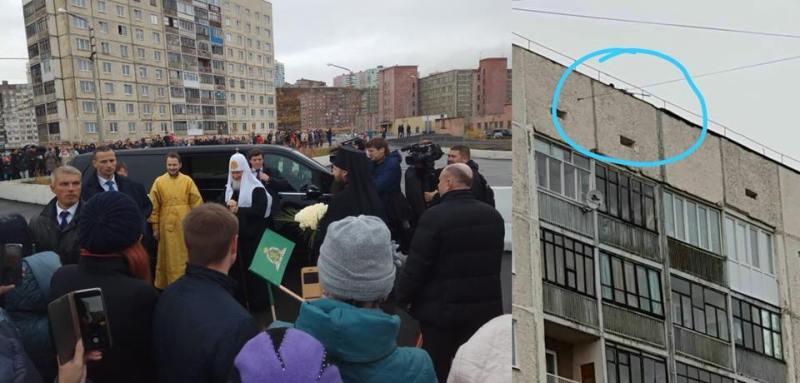 Московського патріарха охороняє снайпер