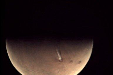 На Марсі вже більше місяця видно дивну хмару