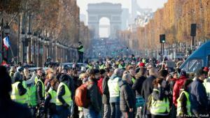 Бензтнові протести у Франції