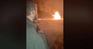 Головний євробляхер спалив свій Rangу Rover