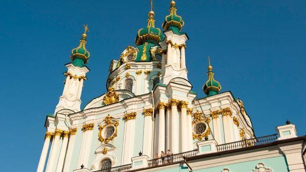 Посіпаки Москви намагалися підпалити Андріївську церкву у Києві