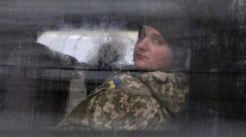 Затриманий український військовослужбовець