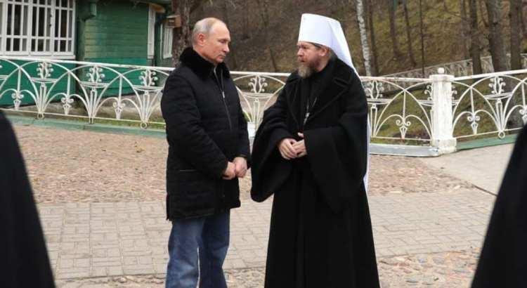 Путін і митрополит Тихон