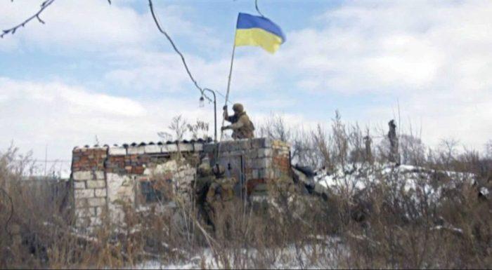 Український прапор у Розсадках