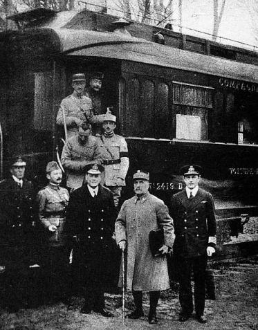 штабний вагон командуючого військами Антанти