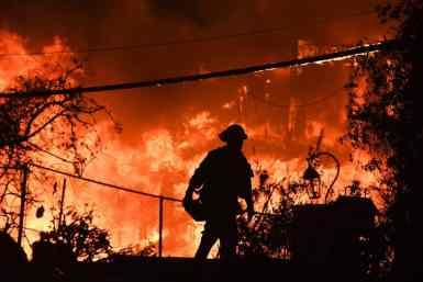 Лісові пожежі, Каліфорнія