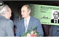 Путін служив у Штазі