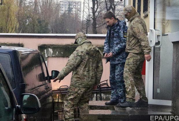 Полонений український моряк