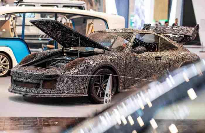 Модель автомобіля Porsche 911 GT3 RS
