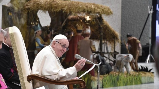 ПапаРимський Франциск про Різдво