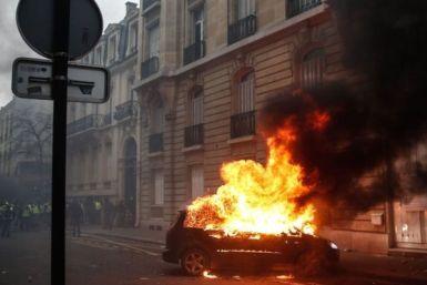 Безлад на вулицях у Франції