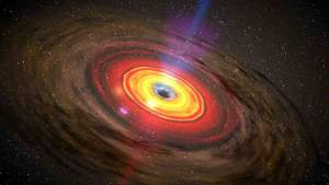 Малюнок чорної діри